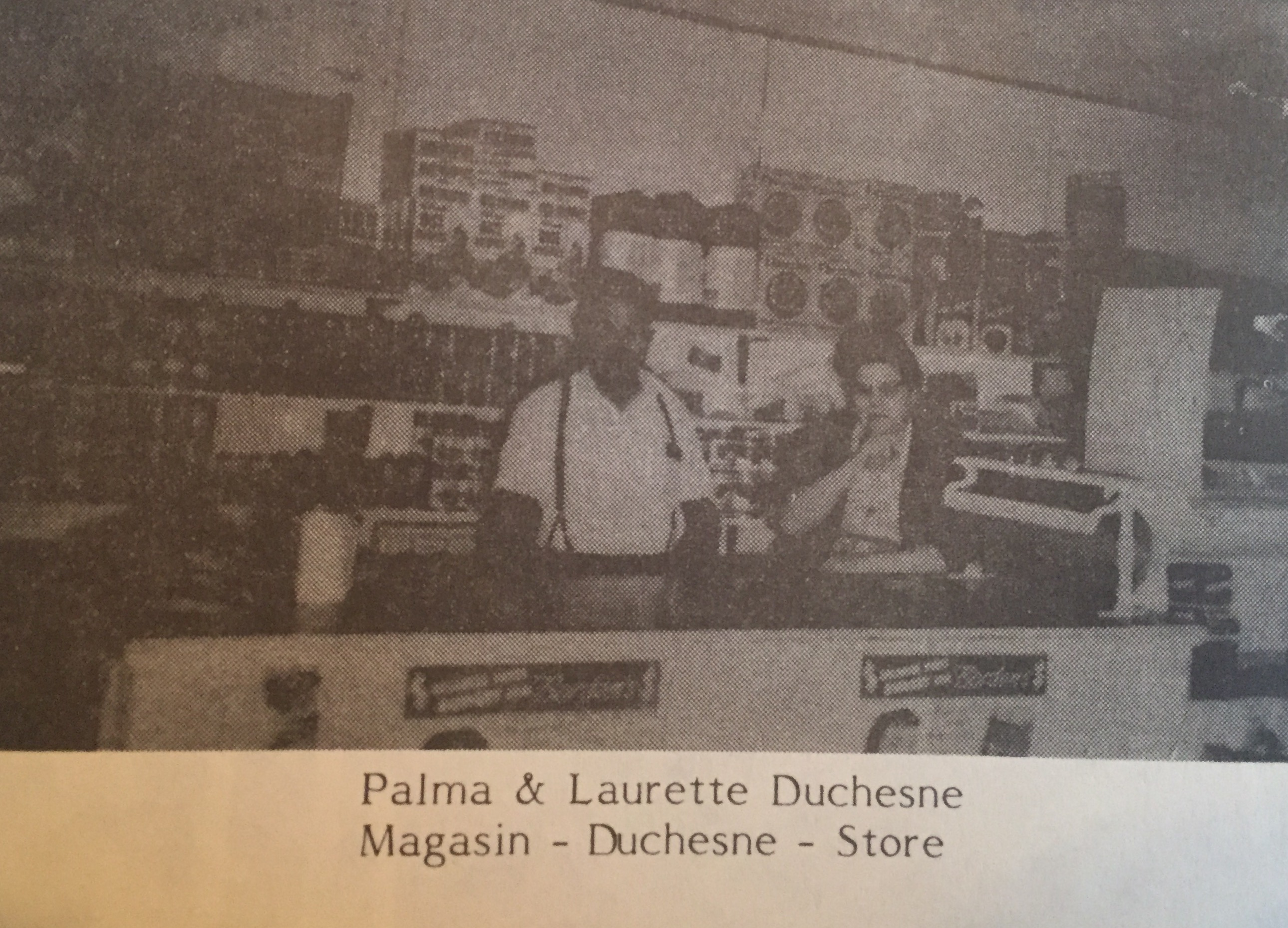 not Palma & Laurette at Magazin Duchesne